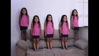 FUI CLONADA  - Five little Babies Jumping on the bed song, nursery rhyme for children baby