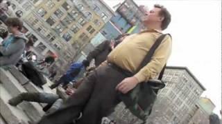Creepy guy filming kids at park