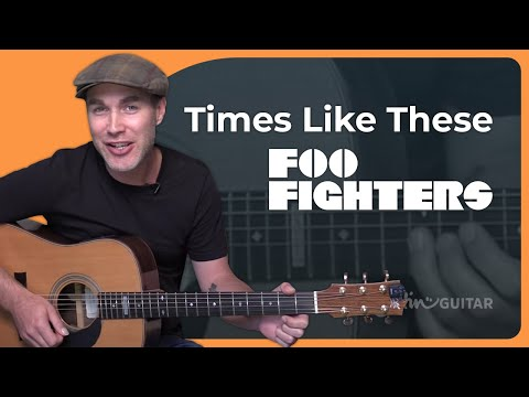 How To Play Times Like These - Foo Fighters Acoustic Beginners (Songs Guitar Lesson BS-990)
