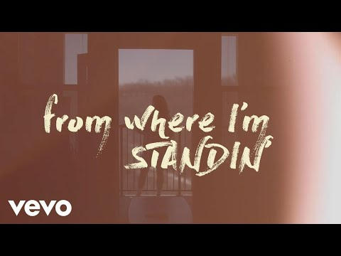 Curtis Grimes - From Where I'm Standing (Official Lyric Video)