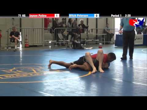 Jayson Patino vs. Mitch Peterson at 2013 Grappling World Team Trials -...