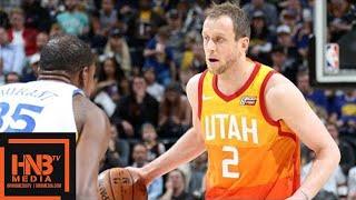 Golden State Warriors vs Utah Jazz Full Game Highlights / Jan 30 / 2017-18 NBA Season
