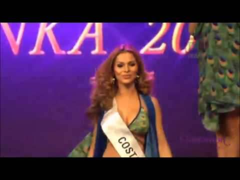 María Amalia Matamoros en  Miss Intercontinental 2016 donde logra ser top 16 y premio a Mejor Cuerpo
