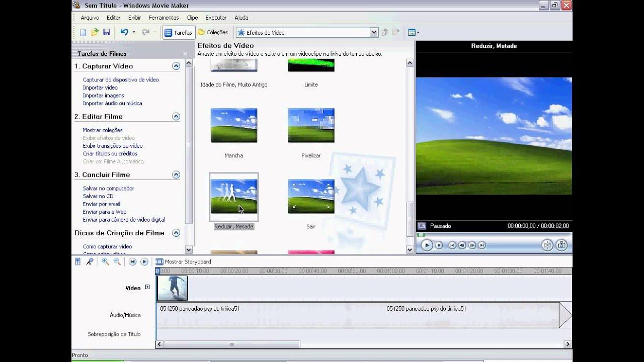 Windows movie maker into avi