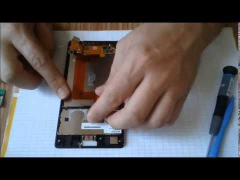 sony xperia T3 disassembly