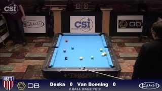 2015 USBTC 9-Ball: Shane Van Boening vs Brian Deska