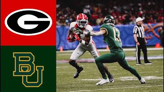 #5 Georgia vs #7 Baylor Sugar Bowl Highlights | 2020 College Football Highlights