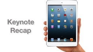 iPad mini keynote recap