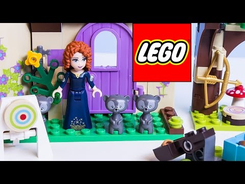 Lego Disney Princess Merida from Brave Movie Merida Princess Castle Disney Pixar ラプンツェルの塔