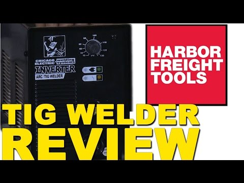 Harbor Freight TIG Welder Review   TIG Time