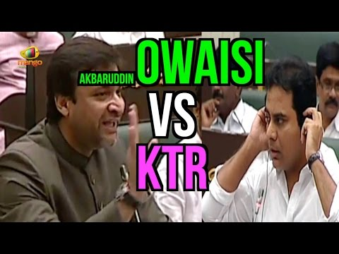 Akbaruddin Owaisi Vs KTR | Give Respect and Take Respect | Telangana Assembly Session | Mango News