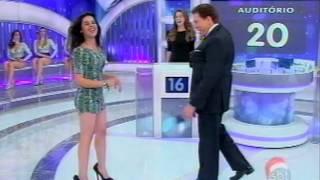 Programa Silvio Santos - Jogo das 3 Pistas: Andressa Suita X Rayanne Morais