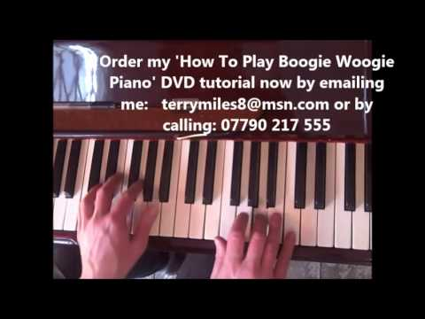 Boogie Woogie Piano Lesson #1 Jerry Lee Lewis   Jools Holland video