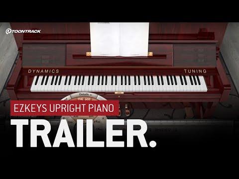 EZkeys Upright Piano & 1.1 Software Update - Trailer