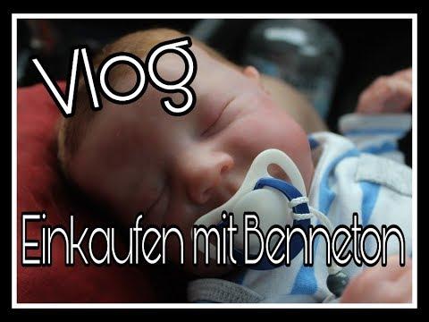 VLOG | Einkaufen mit Benneton | Neuer Kinderwagen || Reborn Baby Deutsch