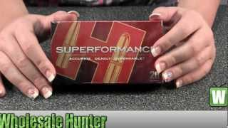 Hornady 257 Roberts 81353 Superformance +P 117gr SST per 20 Ammo Bullets Shooting Unboxing