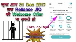 Reliance JIO Welcome Offer Upto 31 Dec 2017: Real or Fake Still No Answer
