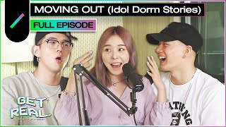 Moving Out (Idol Dorm Stories) with BM (KARD), Peniel (BTOB), and Ashley Choi I GET REAL Ep. #1