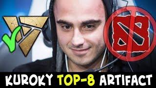 Kuroky vs GameKing — top-8 series on $10,000 Artifact open tournament