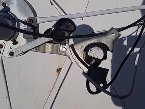 Как установить на большую спутниковую тарелку дополнительно головку на 75 градус