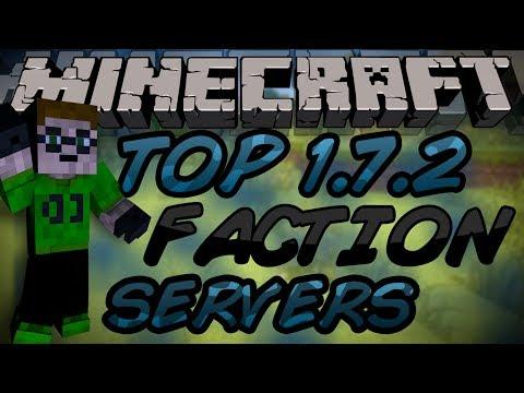The Top 10 Faction/Raiding Servers Of Minecraft 1.7.9!