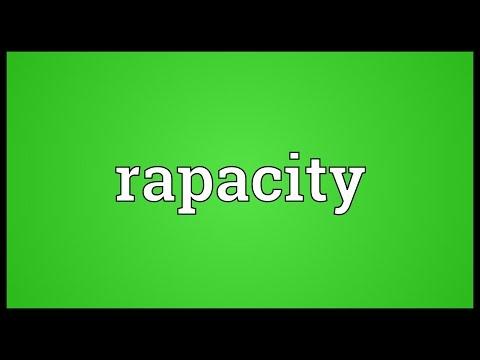 Header of rapacity