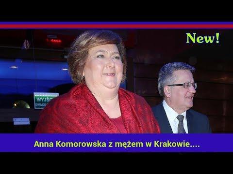 Anna Komorowska Z Mężem W Krakowie. Jak Teraz Wygląda Była Pierwsza Dama?