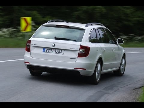 Skoda Superb Combi 1.6 TDI Greenline roadtest