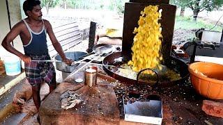 King of Banana Chips - kerala Nendran Banana Chips Making   Must watch