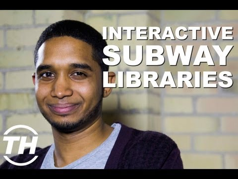 Interactive Subway Libraries - Brandon Bastaldo Discusses Creative QR Codes
