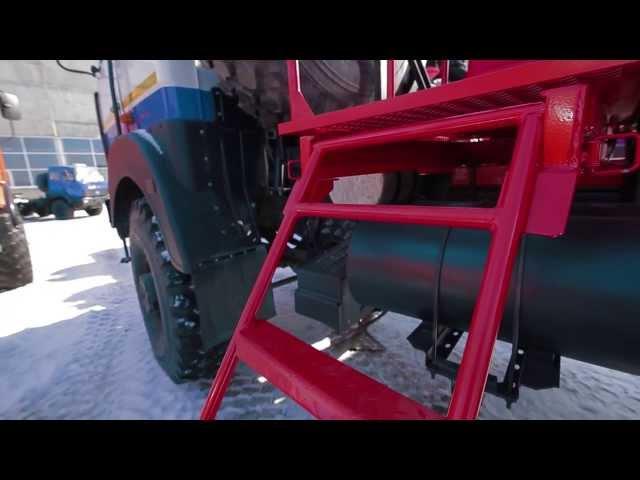 Автоцистерна нефтепромысловая АЦН-18 м³ на шасси МАЗ 6317х9