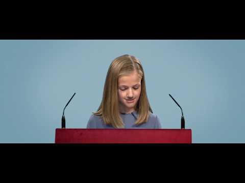 ¿Y si la princesa Leonor no hubiera podido leer su primer discurso?