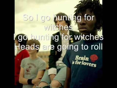 Bloc Party Hunting For Witches Lyrics