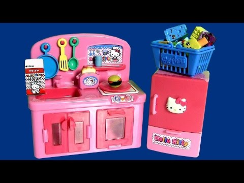 Play Doh Hello Kitty Mini Kitchen Playset By Disneycollector  キャラクター練り切り ハローキティ Playdough video