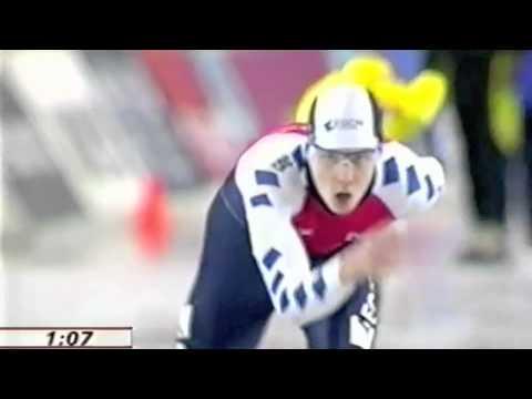 WK Junioren schaatsen 2001 Stefan Groothuis