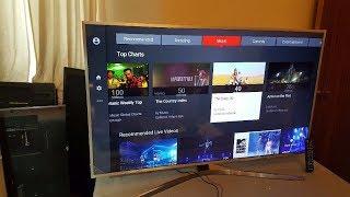 Hướng dẫn kiểm tra tivi mới hay đã trưng bày - Samsung UA49MU6400