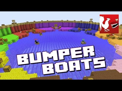 Things to do in Minecraft - Bumper Boats