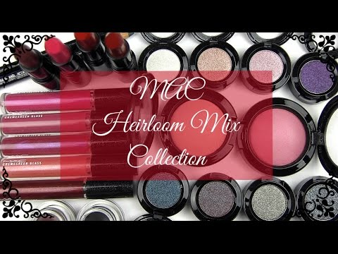 MAC Heirloom Mix Collection: Live Swatches & Review
