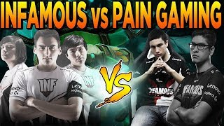 Dota 2 - Pain X vs Infamous Gaming, was that to ez?