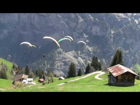 Swiss paragliding acro league - Training