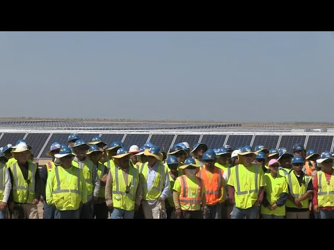 APS dedicates Foothills Solar Plant near Yuma, AZ