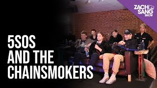 5 Seconds Of Summer And The Chainsmokers Talk Who Do You Love Touring Together