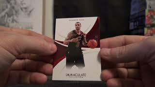 2017/18 Panini Immaculate Basketball 4 Box Case