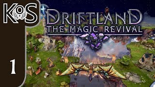 Driftland Ep 1: MYSTICAL FLOATING ISLANDS - Early Access - Let's Play, Gameplay