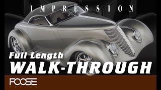 """Foose Design Hand Built Roadster """"Impression"""" Full Length Walkthrough"""