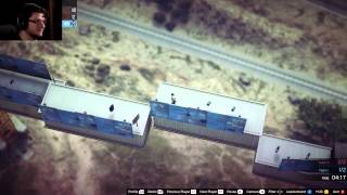 GTA 5 PC Online Funny Moments   WINDMILL DEATH RUN! Custom Games