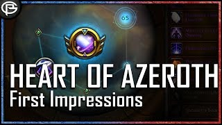 Heart of Azeroth Revamp - First Impressions