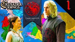 RHAEGAR TARGARYEN! Crusader Kings 2: Game of Thrones: House Targaryen #1