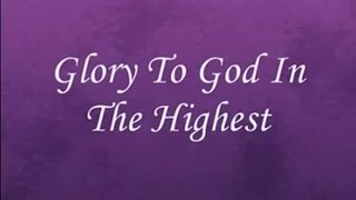 Glory To God In The Highest Lyrics  Handel's Messiah