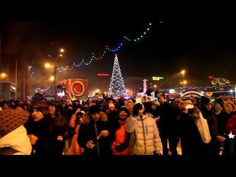 Новый год 2018  Новосибирск